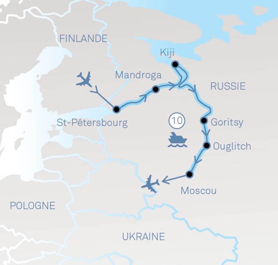 La Russie Par Ses Fleuves | Voyages Et Croisières Varennes serapportantà Carte Des Fleuves