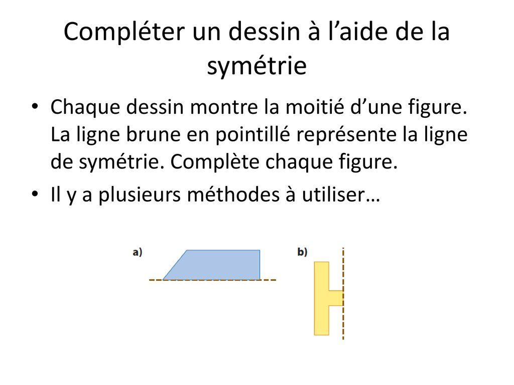 La Symétrie Et L'aire De La Surface - Ppt Télécharger intérieur Symétrie En Ligne