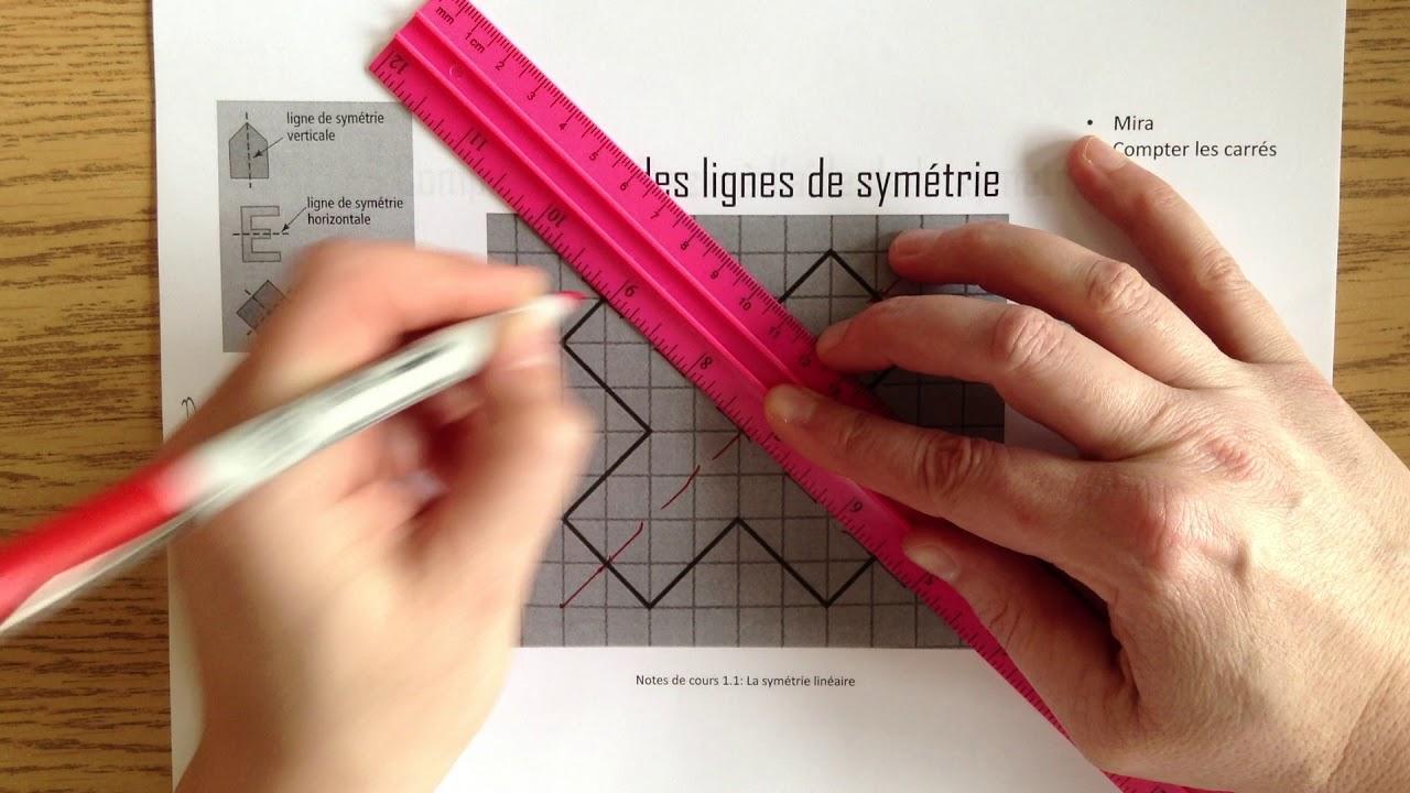 La Symétrie Linéaire destiné Symétrie En Ligne