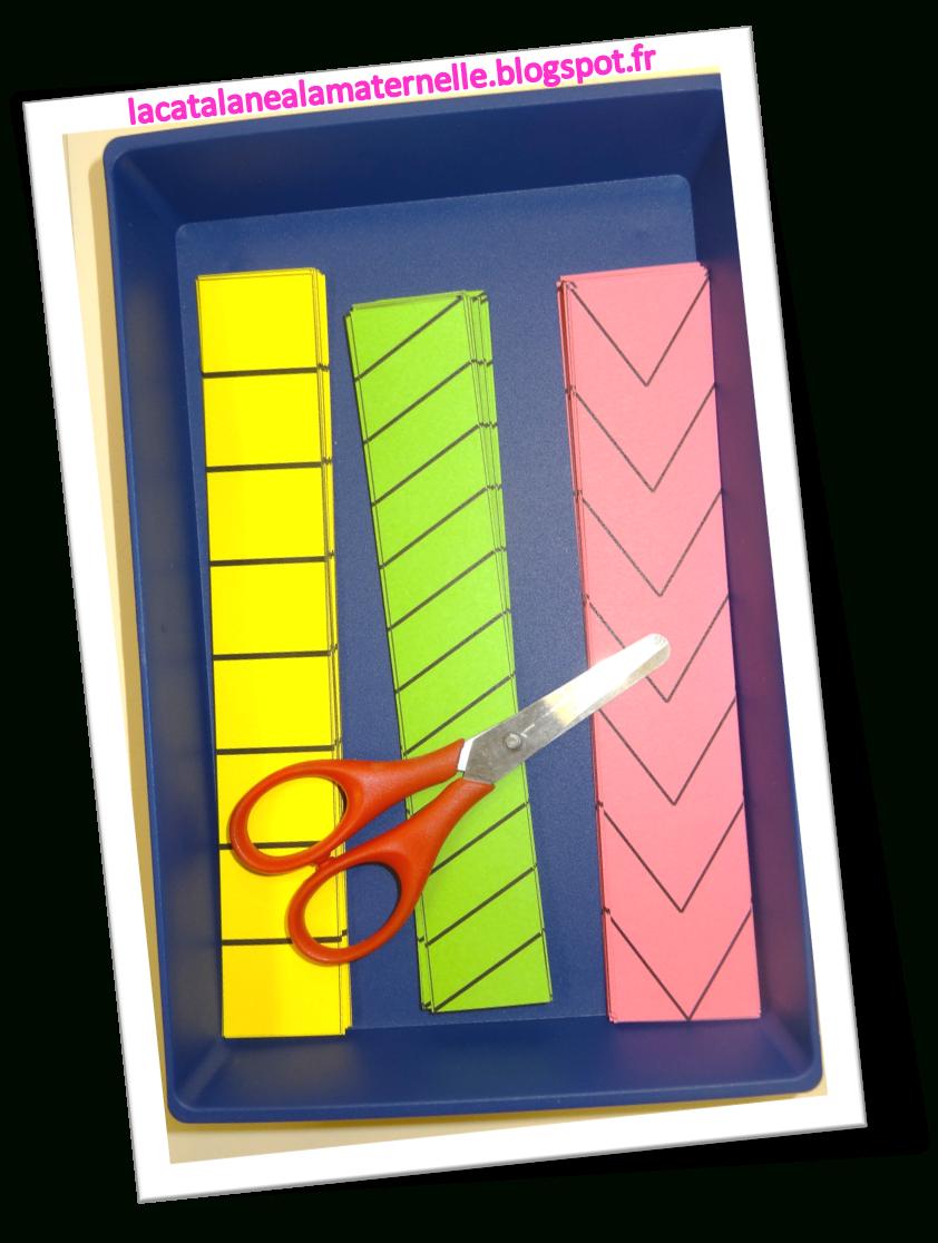 Lacatalane À La Maternelle: Atelier Autonome : Découpage concernant Atelier Découpage Maternelle