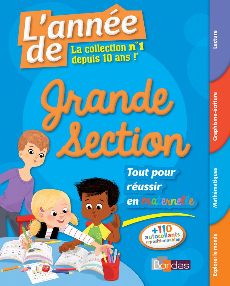 L'année De La Grande Section - Toutes Les Matières * Cahier concernant Exercice De Lecture Maternelle Grande Section