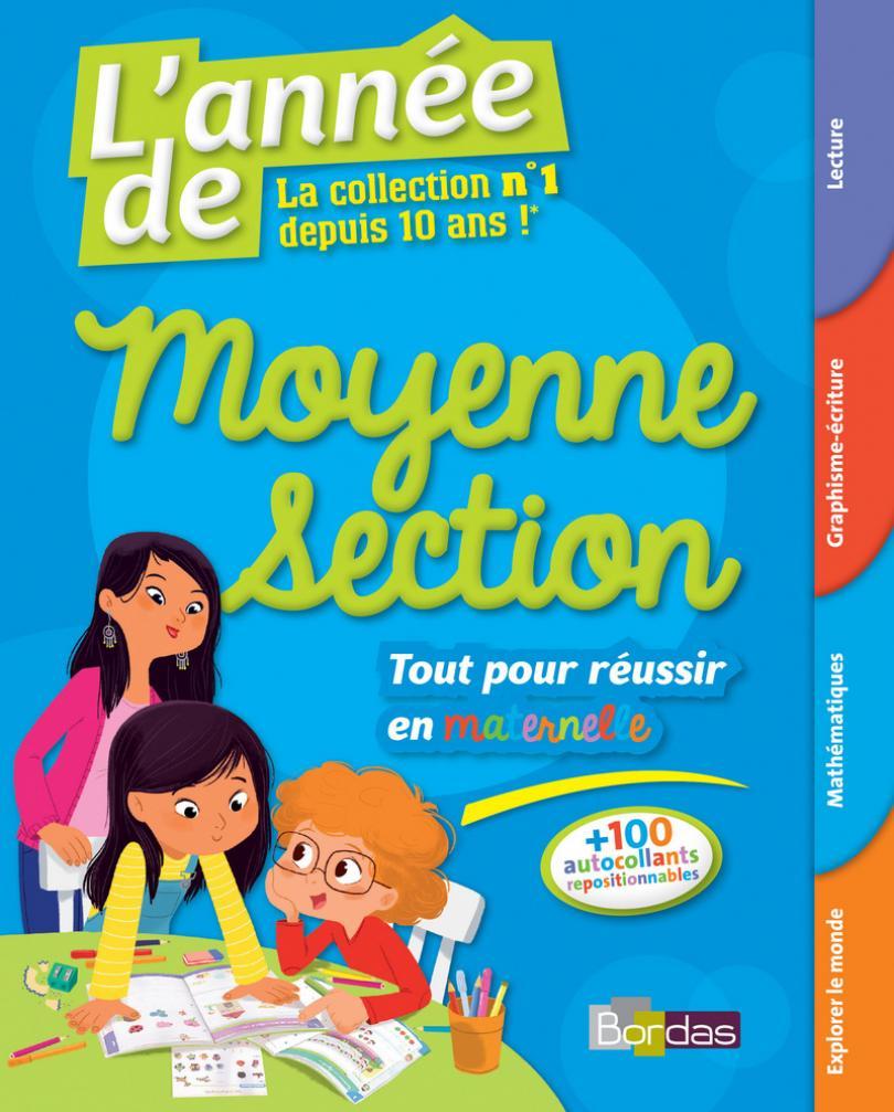L'année De La Moyenne Section - Toutes Les Matières * Cahier pour Cours Moyenne Section Maternelle