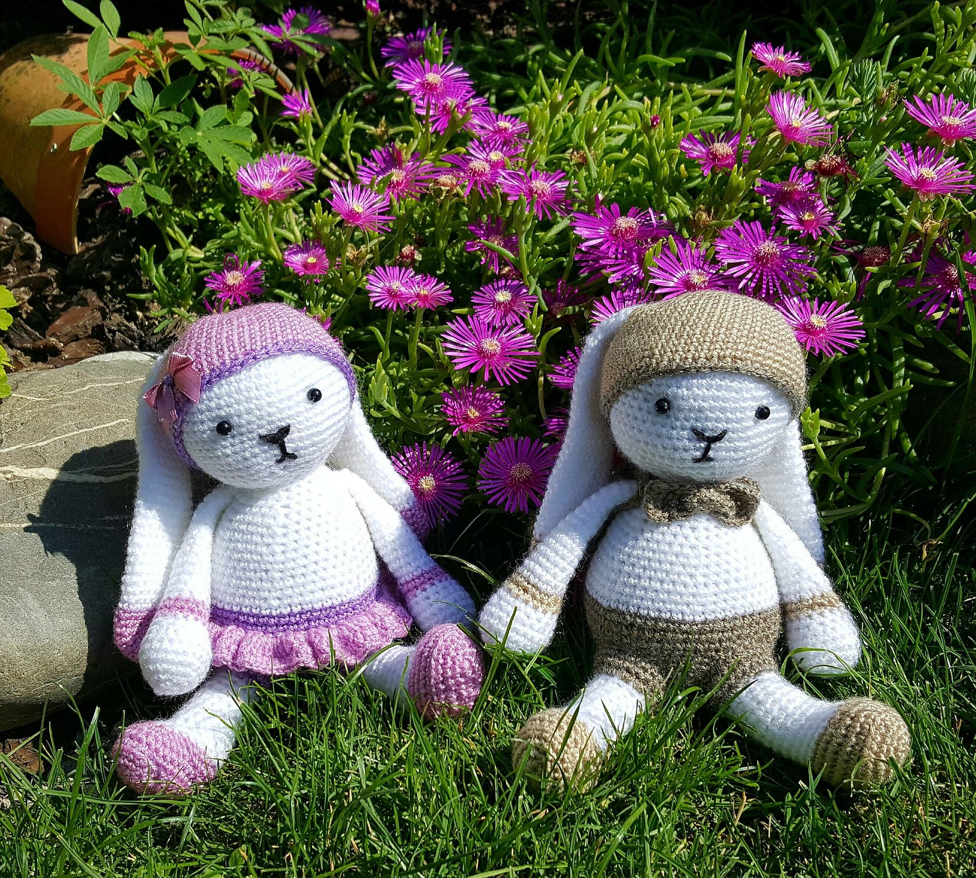Lapin Lulu Au Crochet tout Lapin Lulu