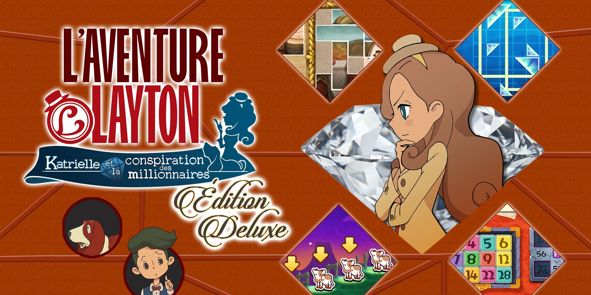 L'aventure Layton™: Katrielle Et La Conspiration Des encequiconcerne Jeux D Aventure Pour Les Filles