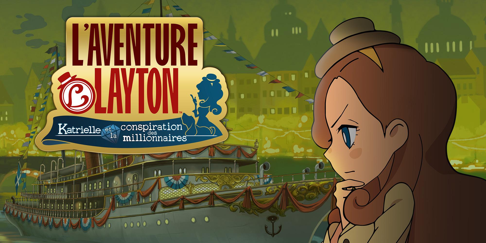 L'aventure Layton™ : Katrielle Et La Conspiration Des tout Jeux D Aventure Pour Les Filles