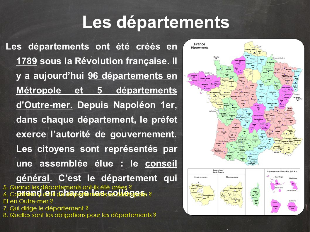 Le Découpage Administratif De La France - Ppt Video Online à Le Découpage Administratif De La France