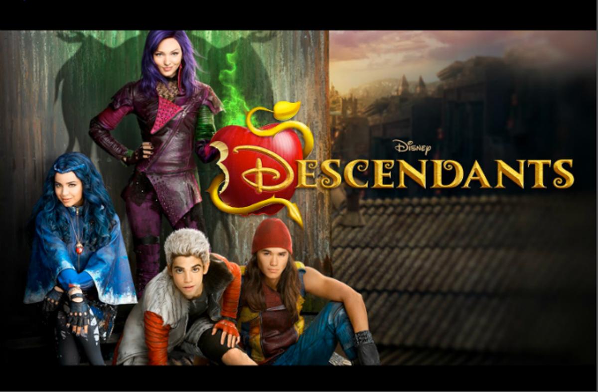 Le Film Descendants Pour La Rentrée Télé 2015 De Disney destiné Jeux De Descendants