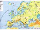 Le Français Du Collège: Le Relief De L'europe pour Carte De L Europe En Relief