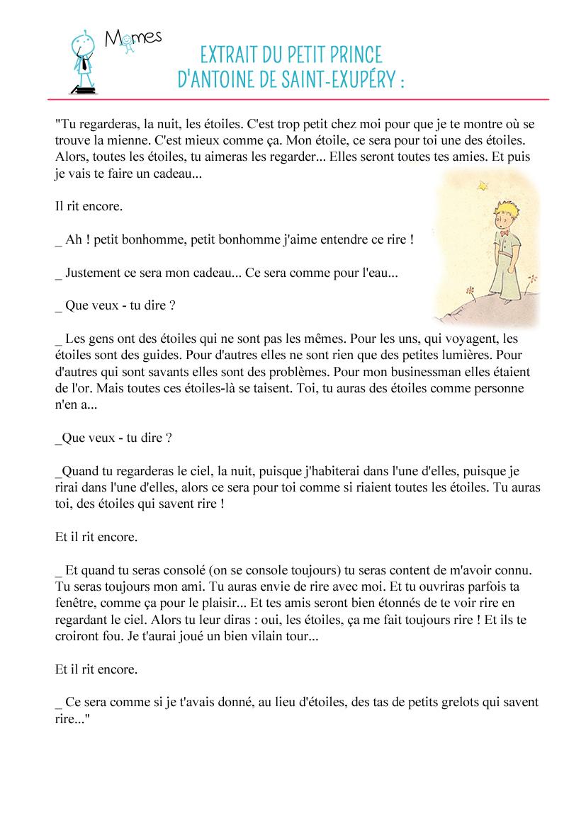 Le Futur De L'indicatif - Autour Du Petit Prince - Momes destiné Exercice Cm1 Conjugaison À Imprimer