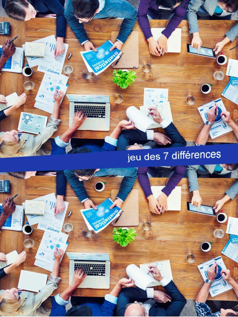 Le Jeu Des 7 Différences - Création Site Internet Grenoble pour Jeu Des 7 Differences