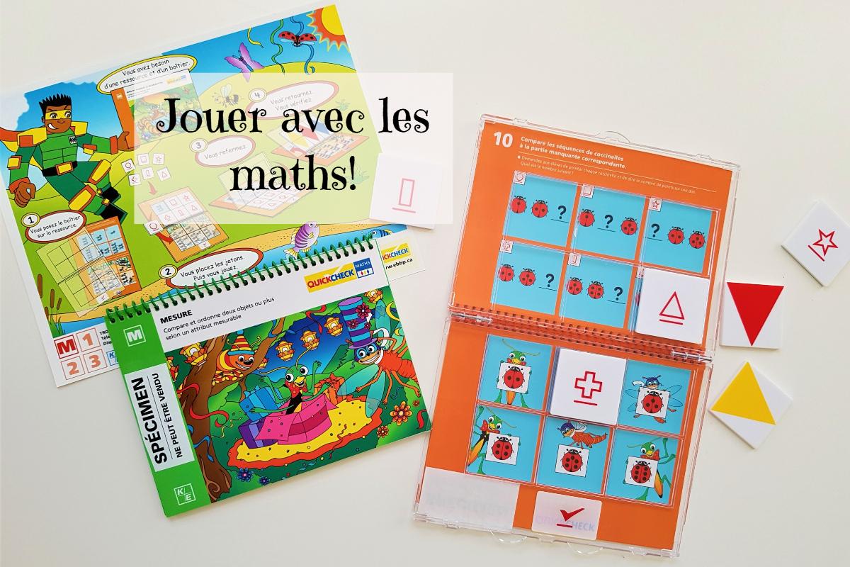 Le Jeu Quickcheck Maths – Un Autre Blogue De Maman destiné Jeux De Maths Facile