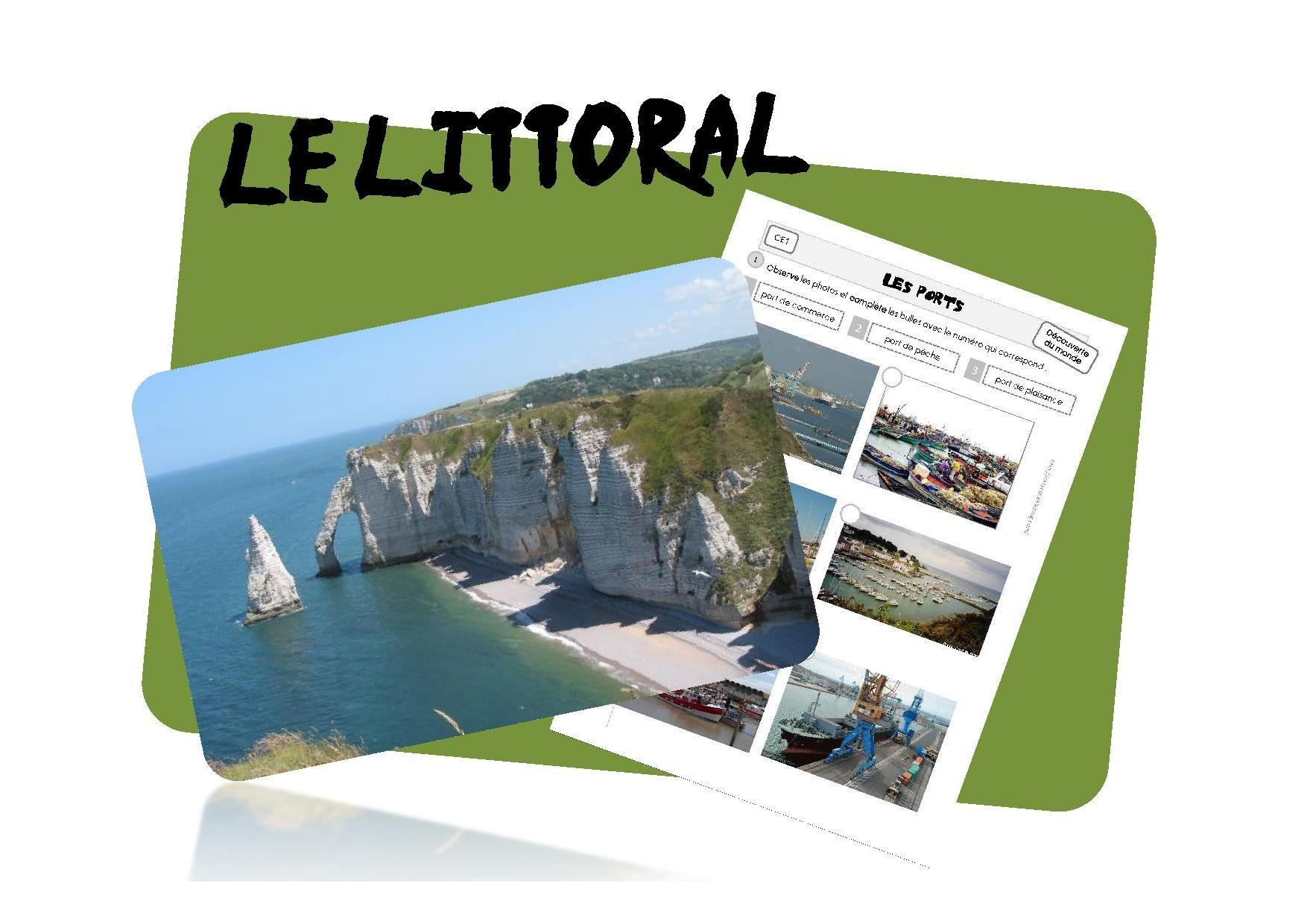 Le Littoral Français (Avec Images) | Géographie Ce2, Ce1 concernant Le Découpage Administratif De La France Ce2