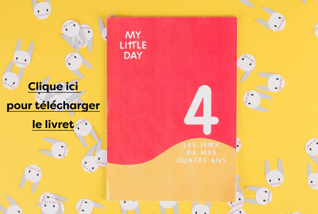 Le Livret De Jeux Des 4 Ans - Les Conseils - My Little Day dedans Jeux De 4 Ans Garçon