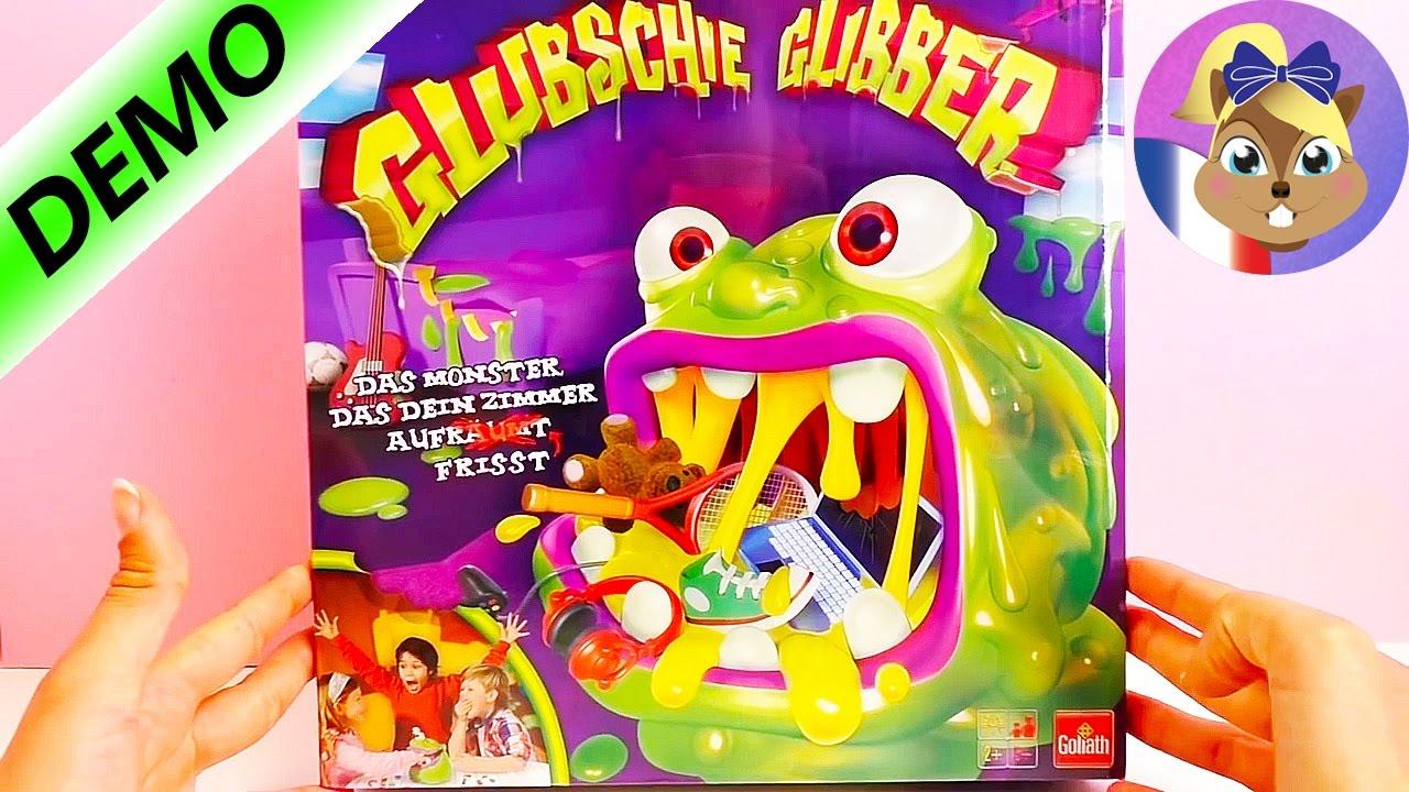 Le Monstre Qui Mange Tout Ce Qu'Il Trouve! - Jeu Glubschie Glibber serapportantà Jeux À Manger
