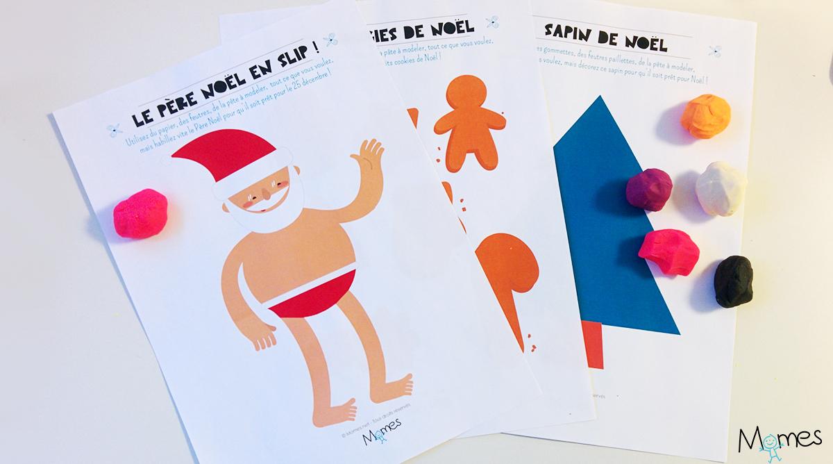 Le Père Noël En Slip ! Set De Jeu - Momes avec Jeu Noel Maternelle