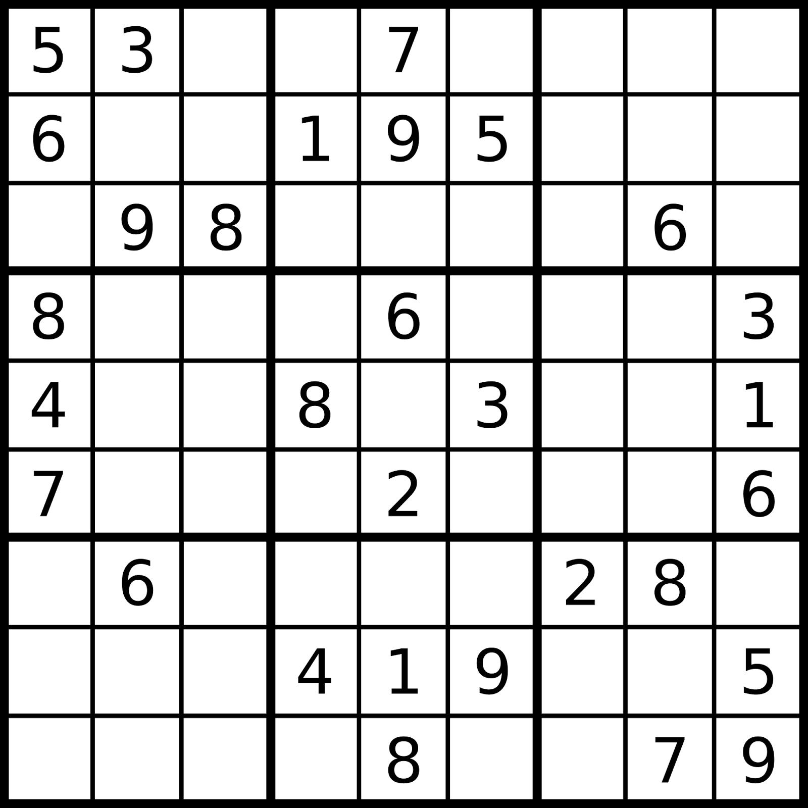 Le Prof De Sudoku: Août 2015 tout Comment Jouer Sudoku