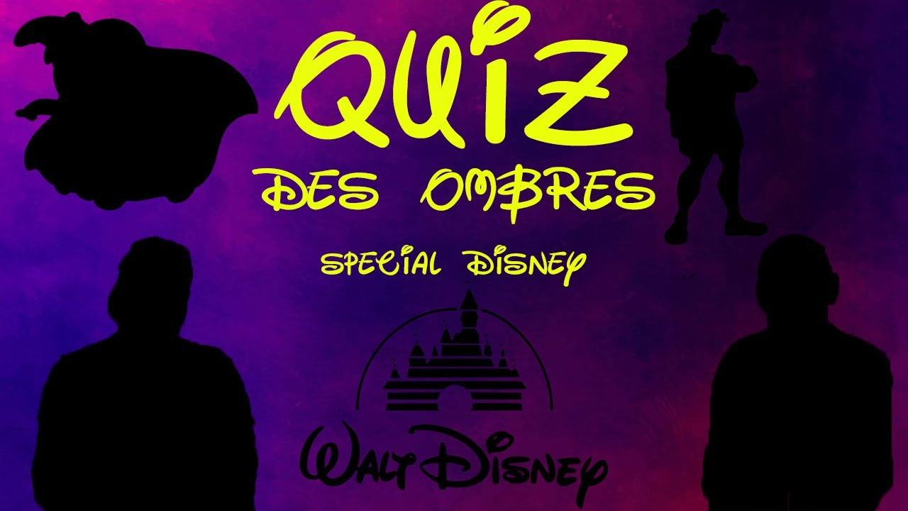 Le Quiz Des Ombres Spécial Disney destiné Quiz Des Ombres