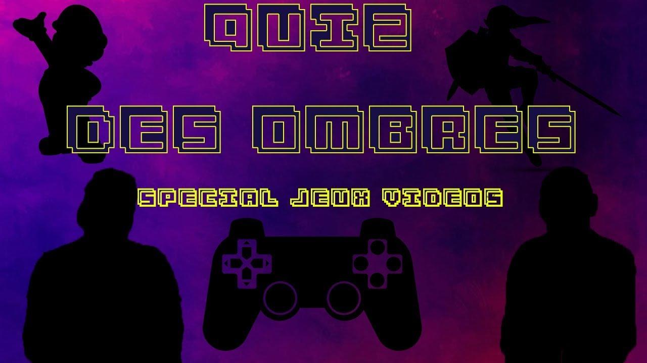 Le Quiz Des Ombres Spécial Jeux Vidéos avec Quiz Des Ombres