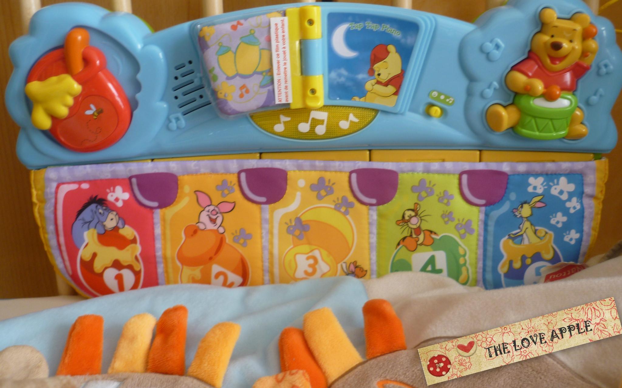 Le Tap Tap Piano : Un Jeu D'éveil - À Partir De 3 Mois - The tout Jeux D Eveil Bébé 2 Mois