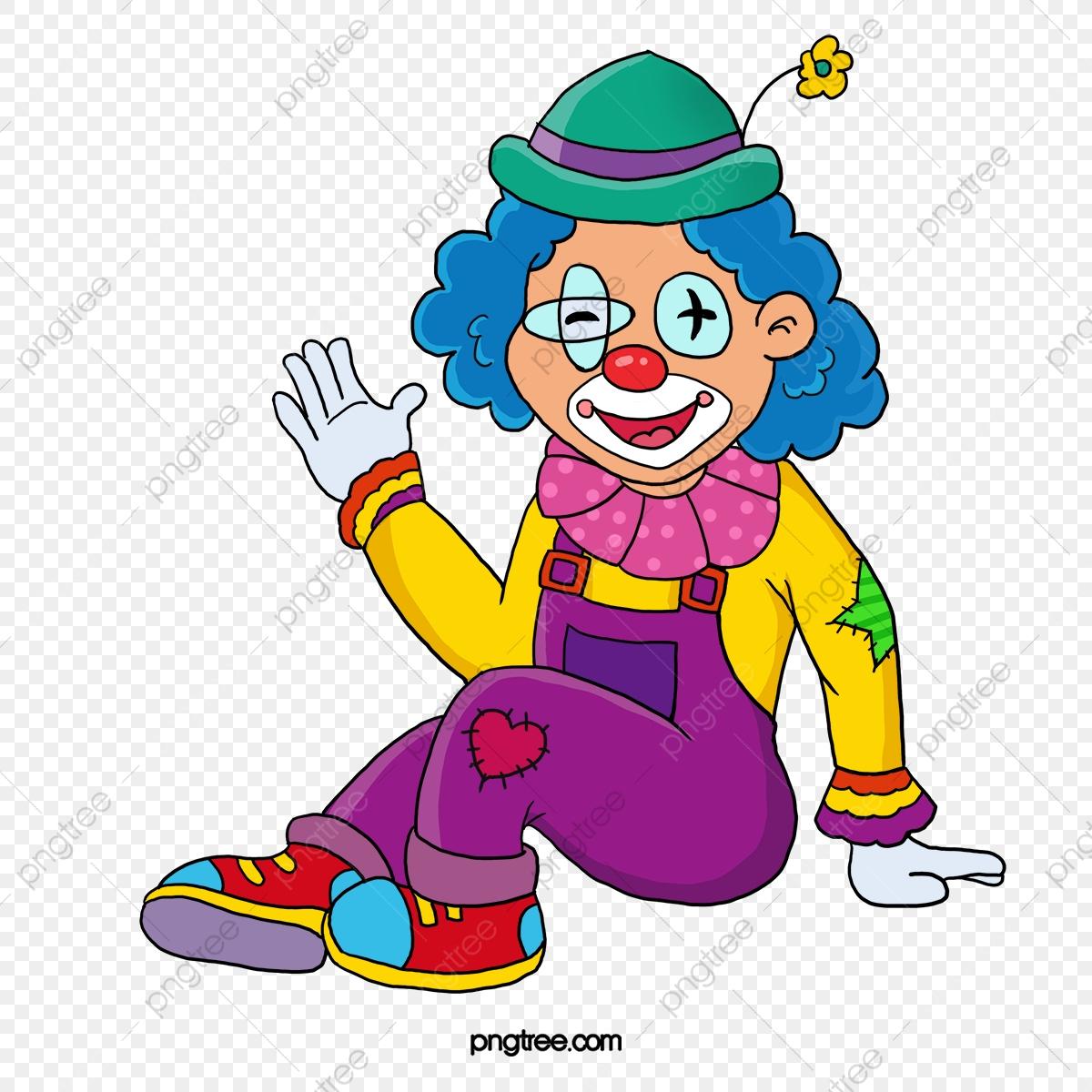 Le Vecteur De Couleur Bonjour, Le Vecteur De Clown, Clown destiné Dessin De Clown En Couleur