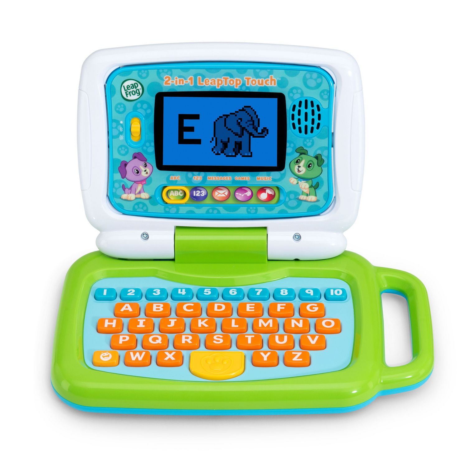 Leapfrog Ordi-Tablette P'tit Genius Touch (Vert) - Version tout Ordinateur Educatif 3 Ans