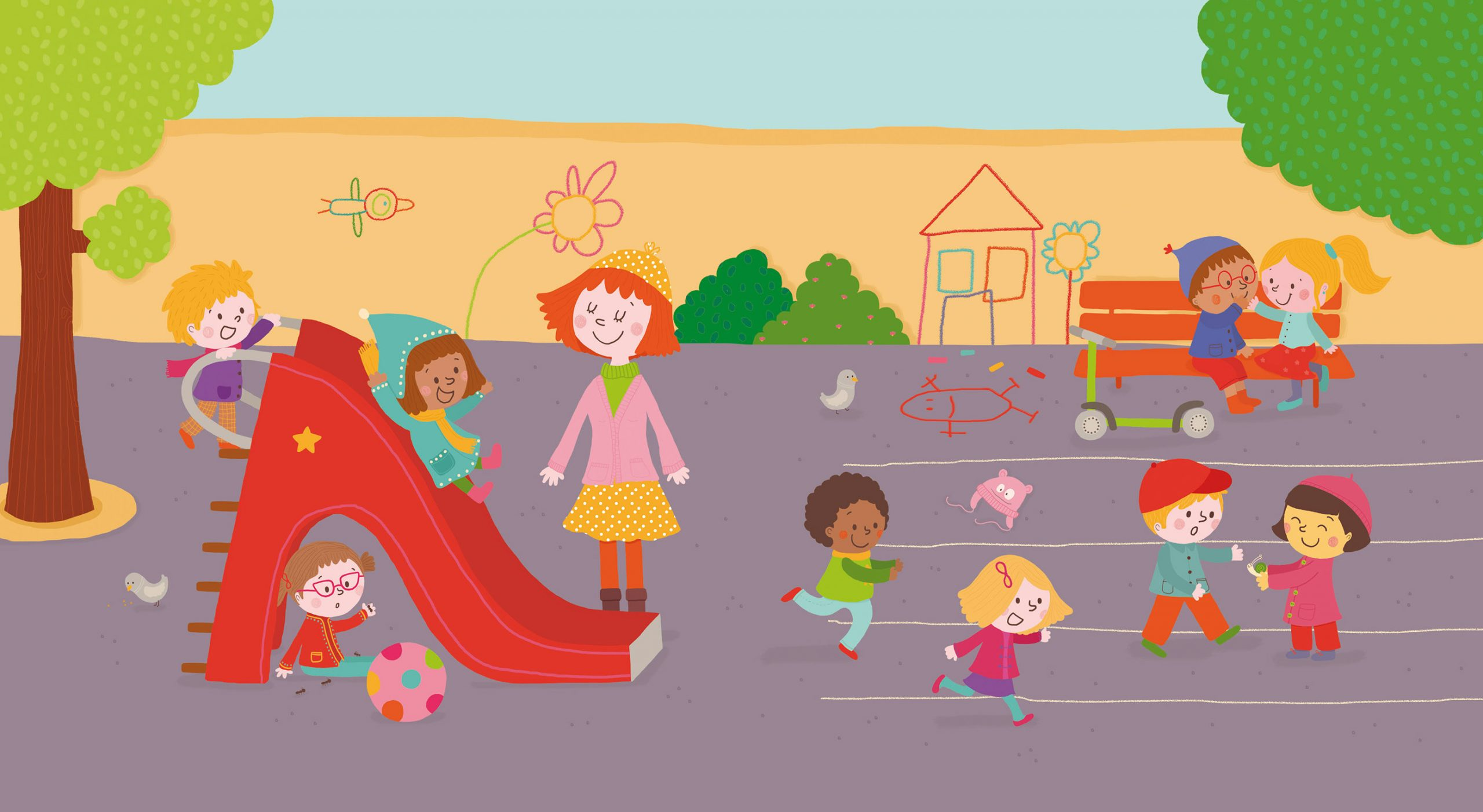 L'école Maternelle. Editions Larousse On Behance dedans Imagier Ecole