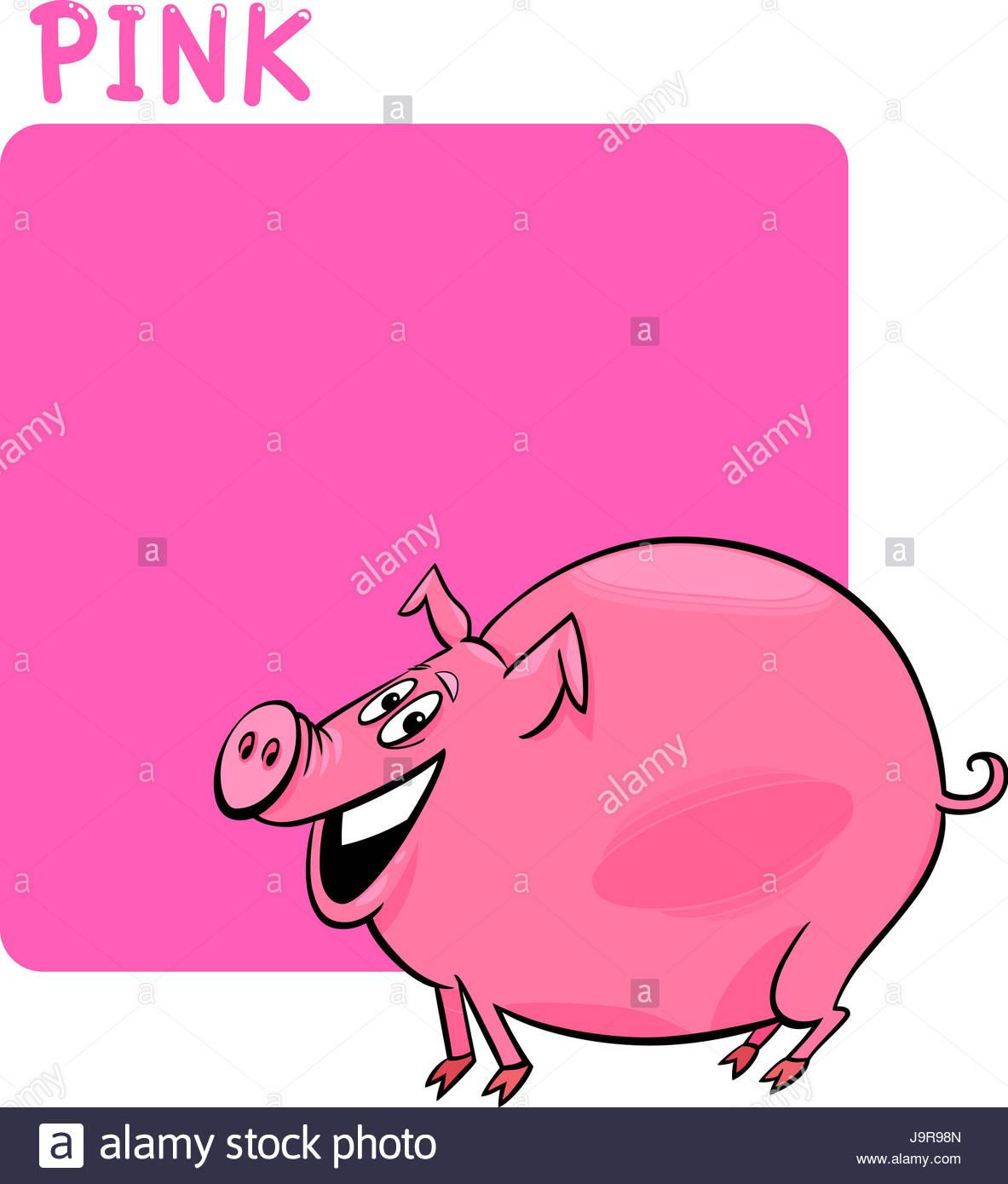 L'éducation, De La Couleur, Illustration, Dessin, Couleur concernant Dessin De Cochon En Couleur