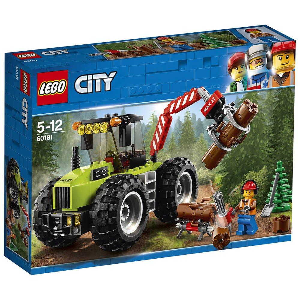 Lego 60181 - Le Tracteur Forestier dedans Jeux Gratuit Tracteur A La Ferme