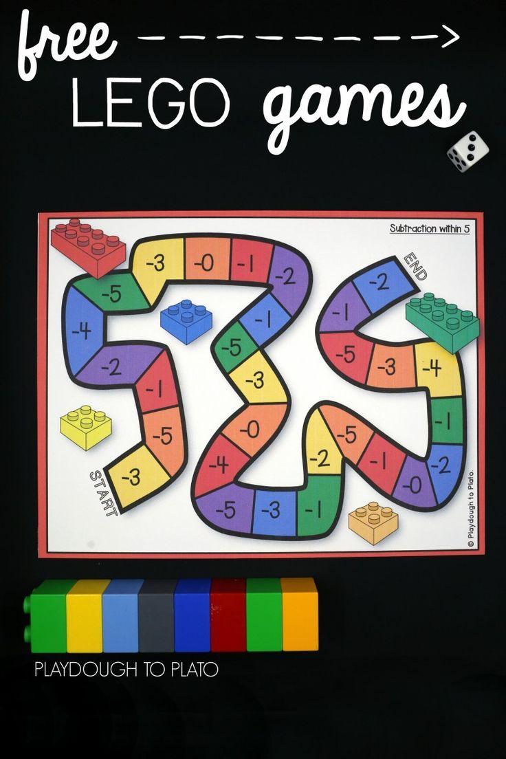 Lego Addition And Subtraction | Lego Duplo, Jeux A Imprimer concernant Addition Maternelle