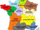 Les 13 Nouvelles Régions De France serapportantà Carte Des 22 Régions