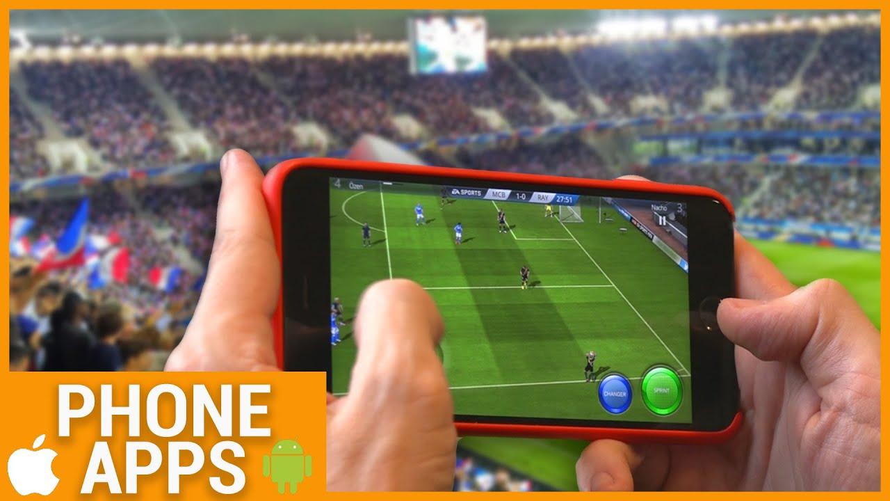 Les 4 Meilleurs Jeux De Foot Sur Smartphone ?! dedans Jeux Foot Tablette