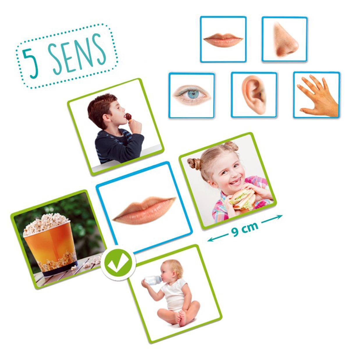 Les 5 Sens pour Jeu Des Cinq Sens