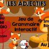 Les Adjectifs- Jeu De Grammaire Tni Interactif tout Jeux Interactifs Primaire