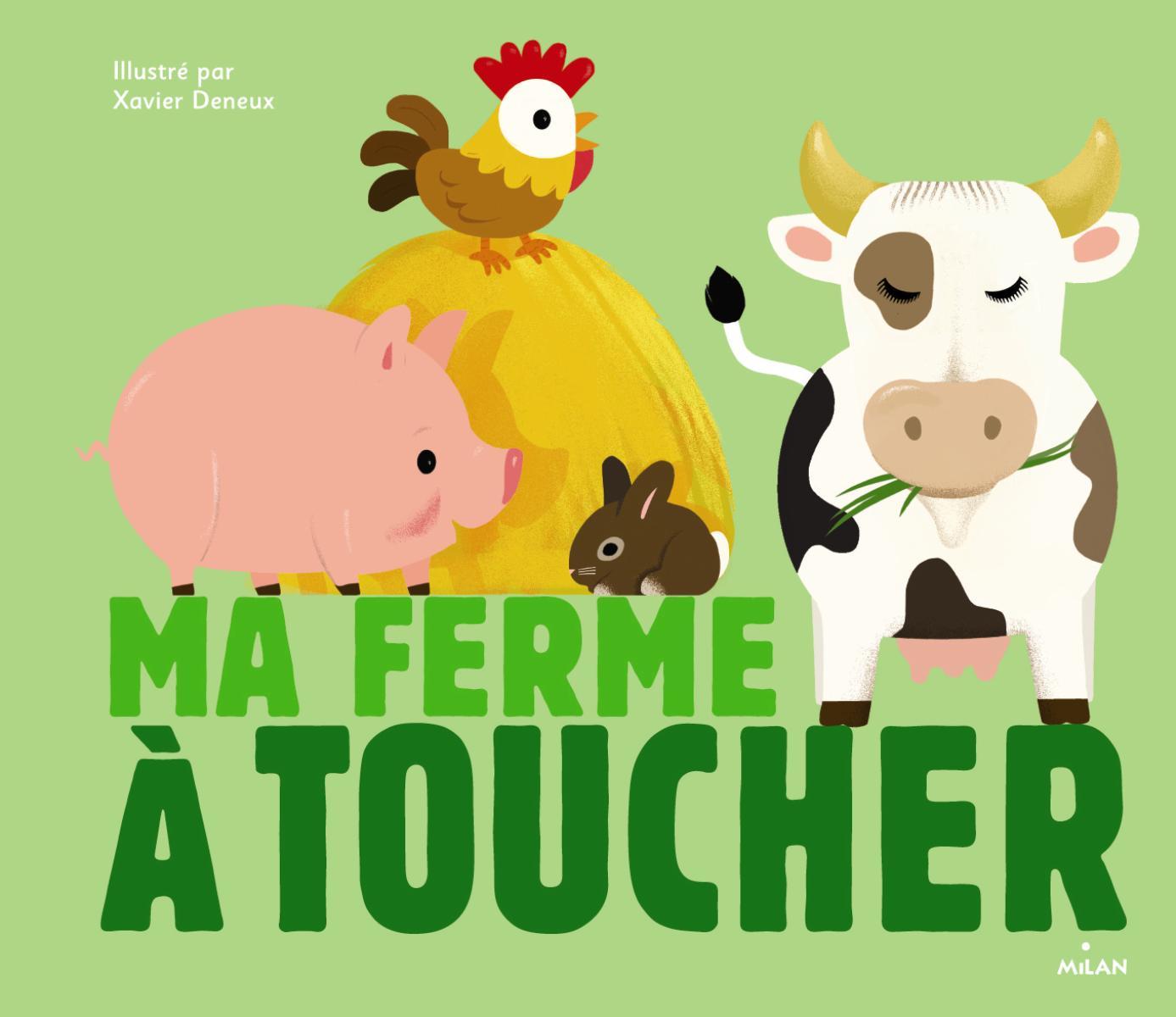 Les Animaux De La Ferme - Editions Milan tout Activité Manuelle Sur La Ferme