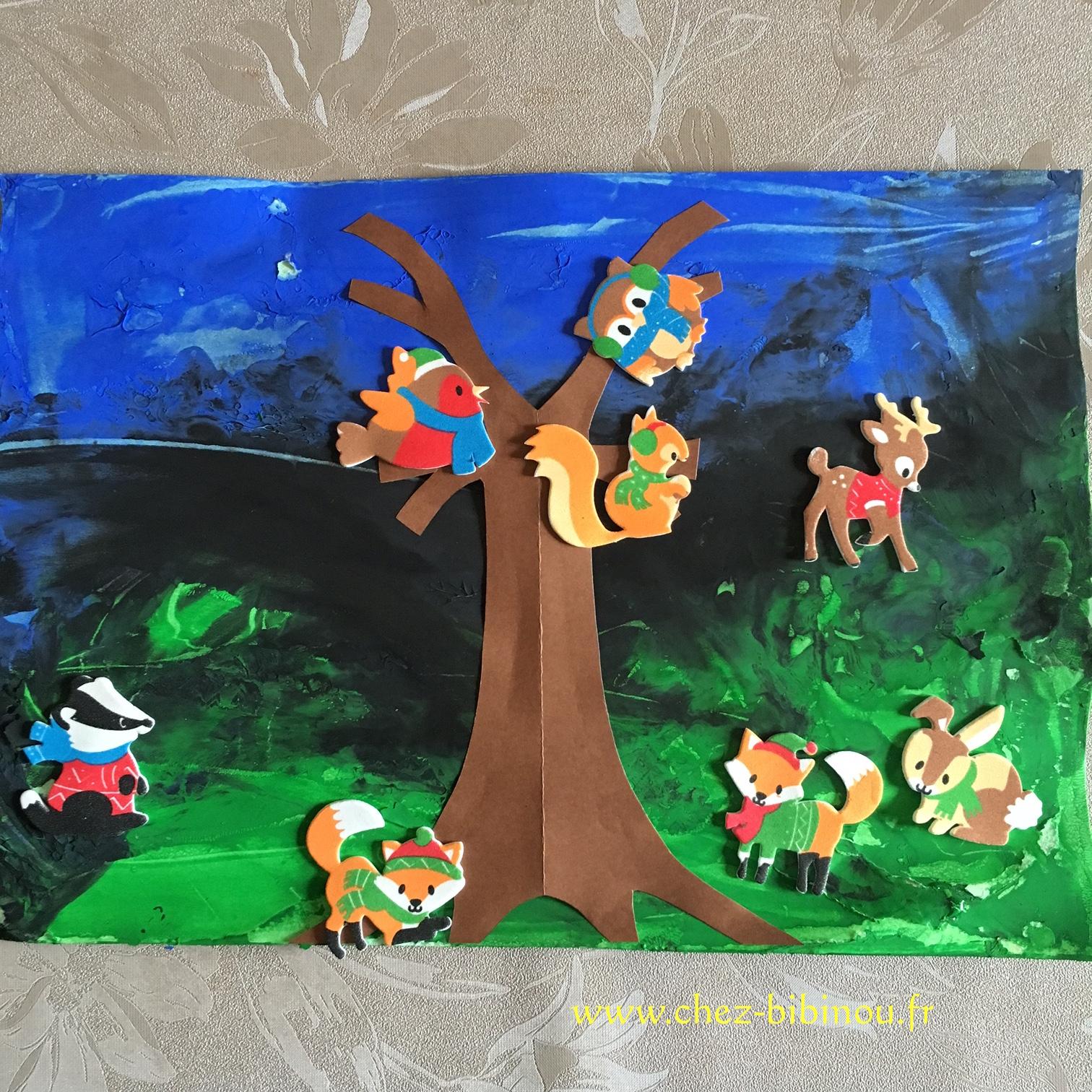 Les Animaux De La Forêt – Chez Bibinou destiné Activité Manuelle Animaux