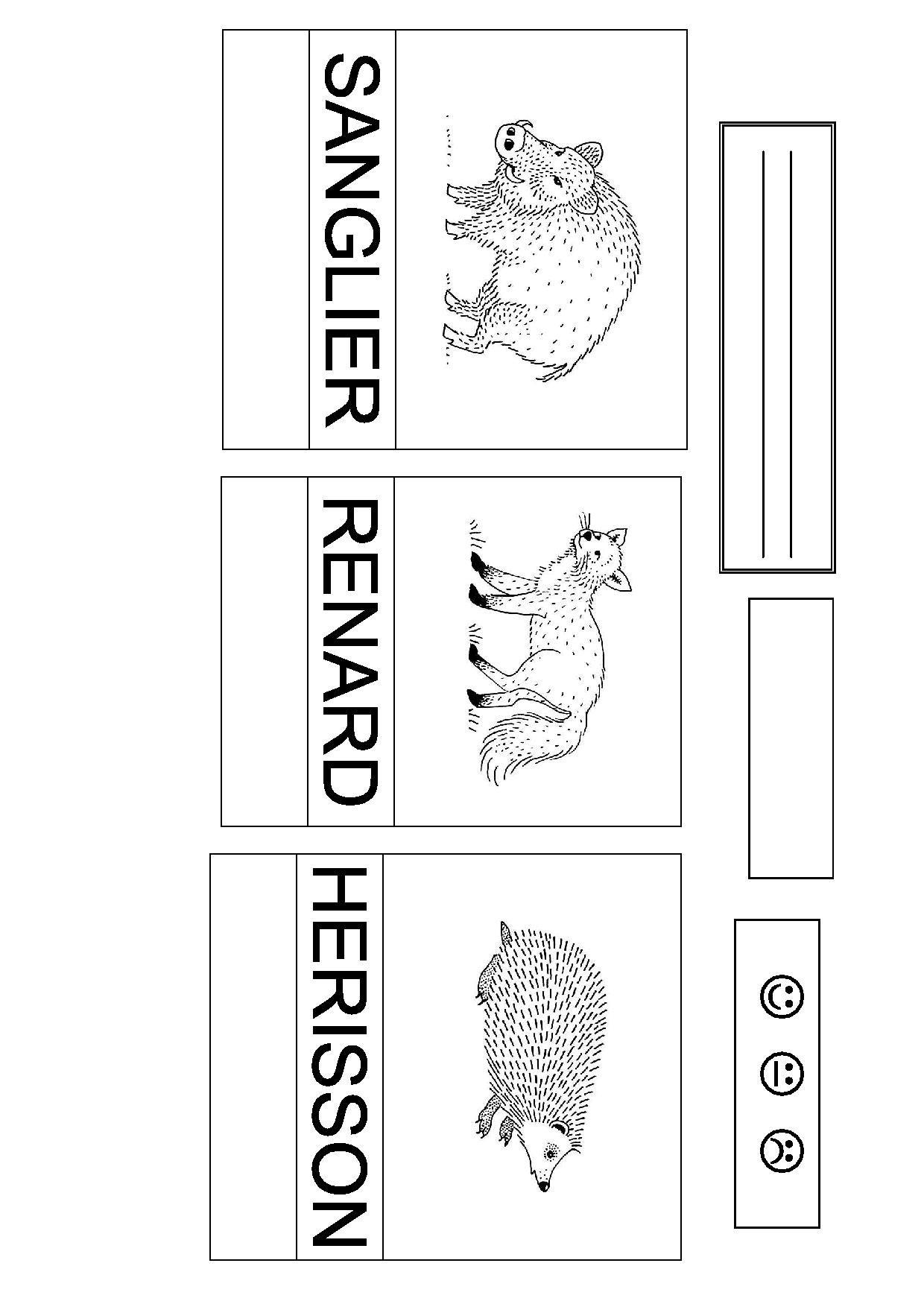 Les Animaux De La Forêt Maternelle - Recherche Google avec Animaux Foret Maternelle