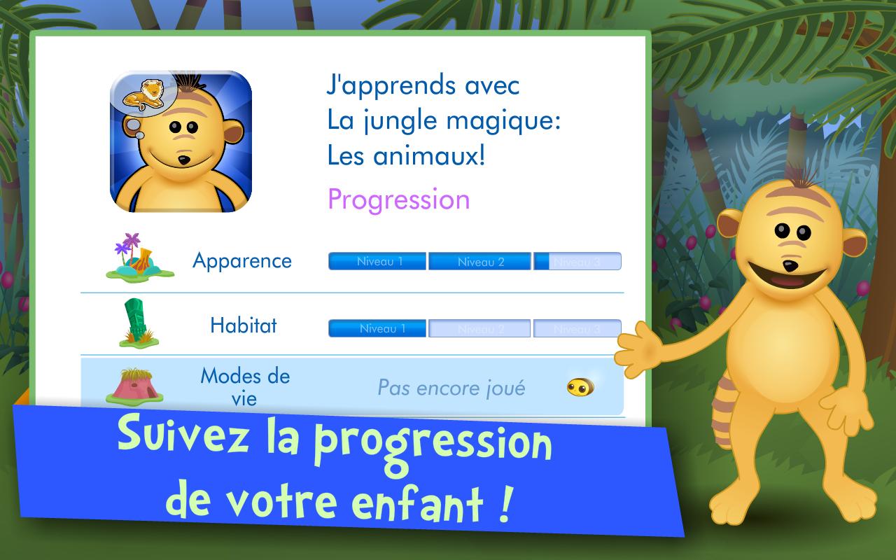 Les Animaux ! Jeux Enfants 1.6.1 Android Apk'sını Indir tout Animaux De La Jungle Maternelle