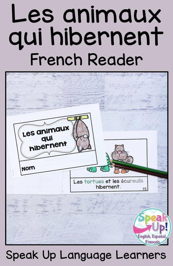 Les Animaux Qui Hibernent ~ French Hibernating Animals concernant Animaux Qui Hivernent