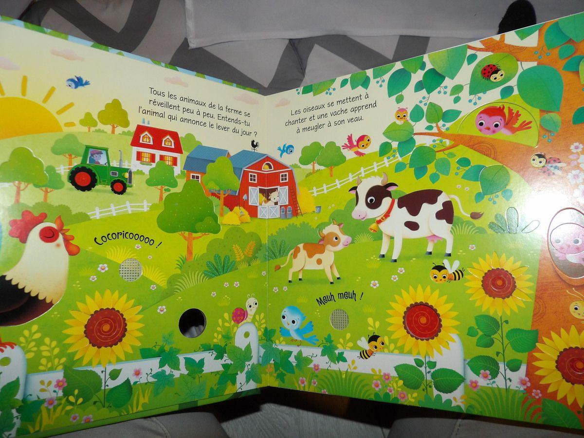 Les Bruits De La Ferme De Editions Usborne - Une Super Maman concernant Bruit Des Animaux De La Ferme