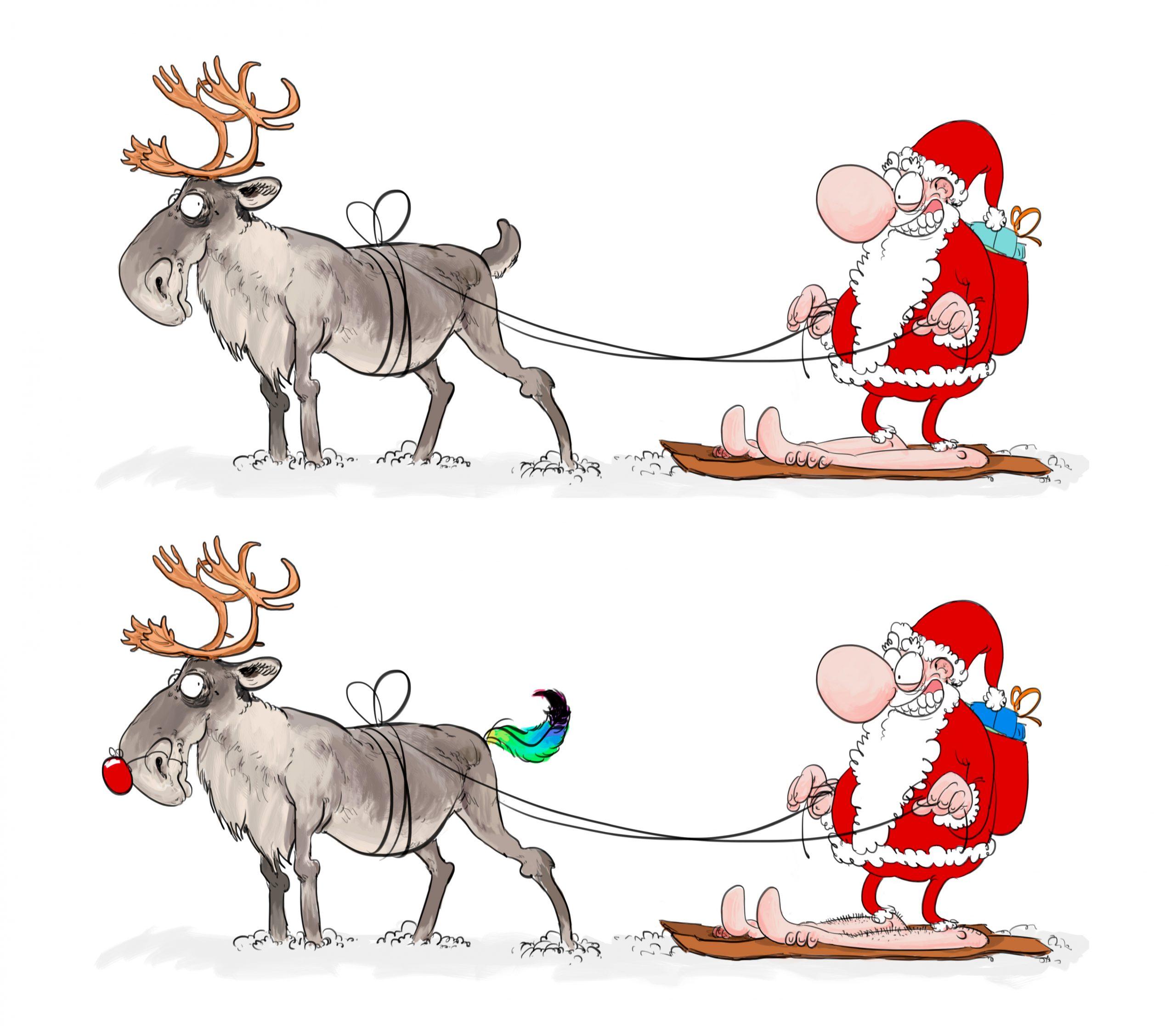 Les Cadeaux De Noël Du Plf 2015 – Les Murs Ont Des Orteils concernant Jeu Des Sept Erreurs