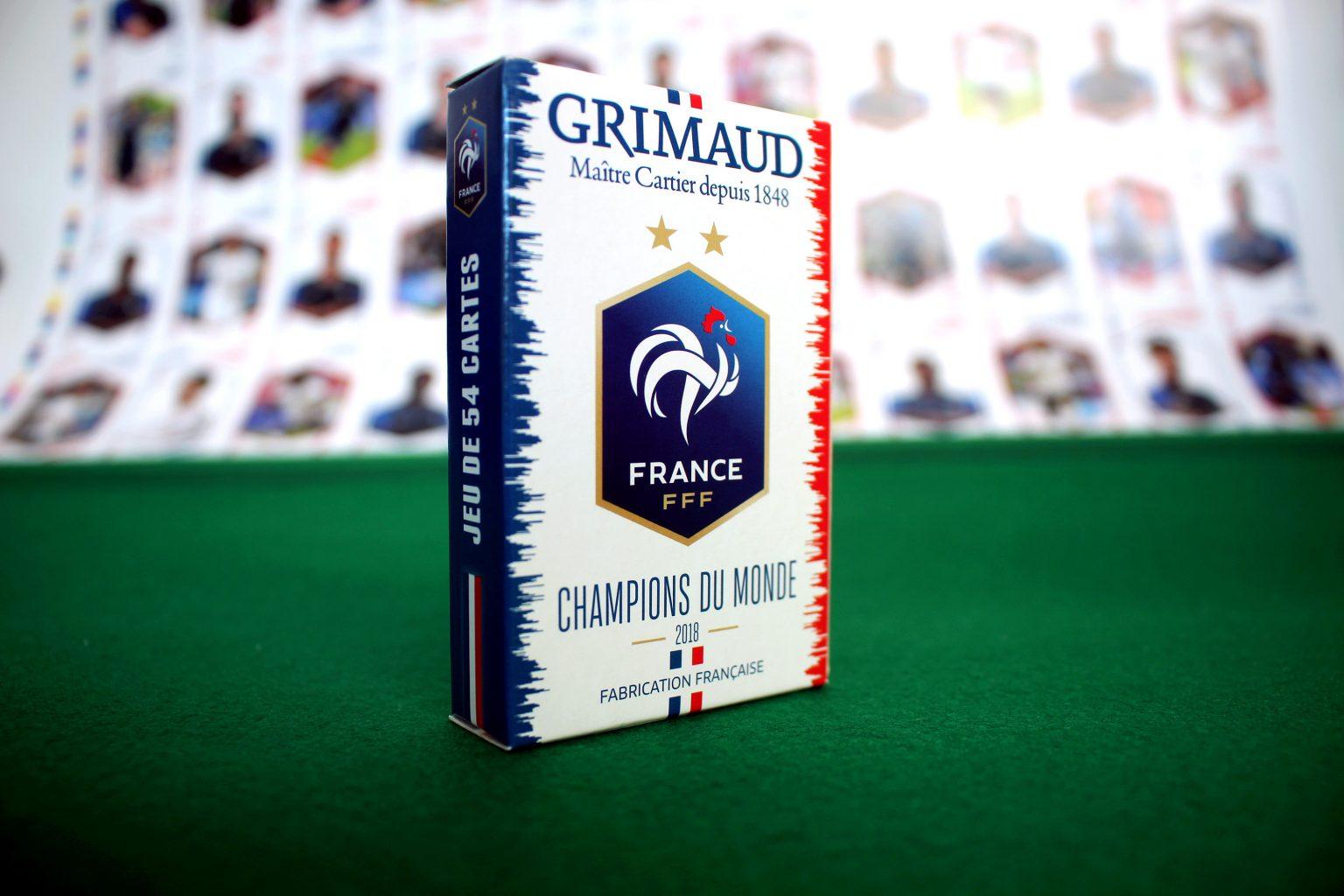 Les Cartes À Jouer Grimaud - France Cartes Cartamundi avec Jeu De Carte De France