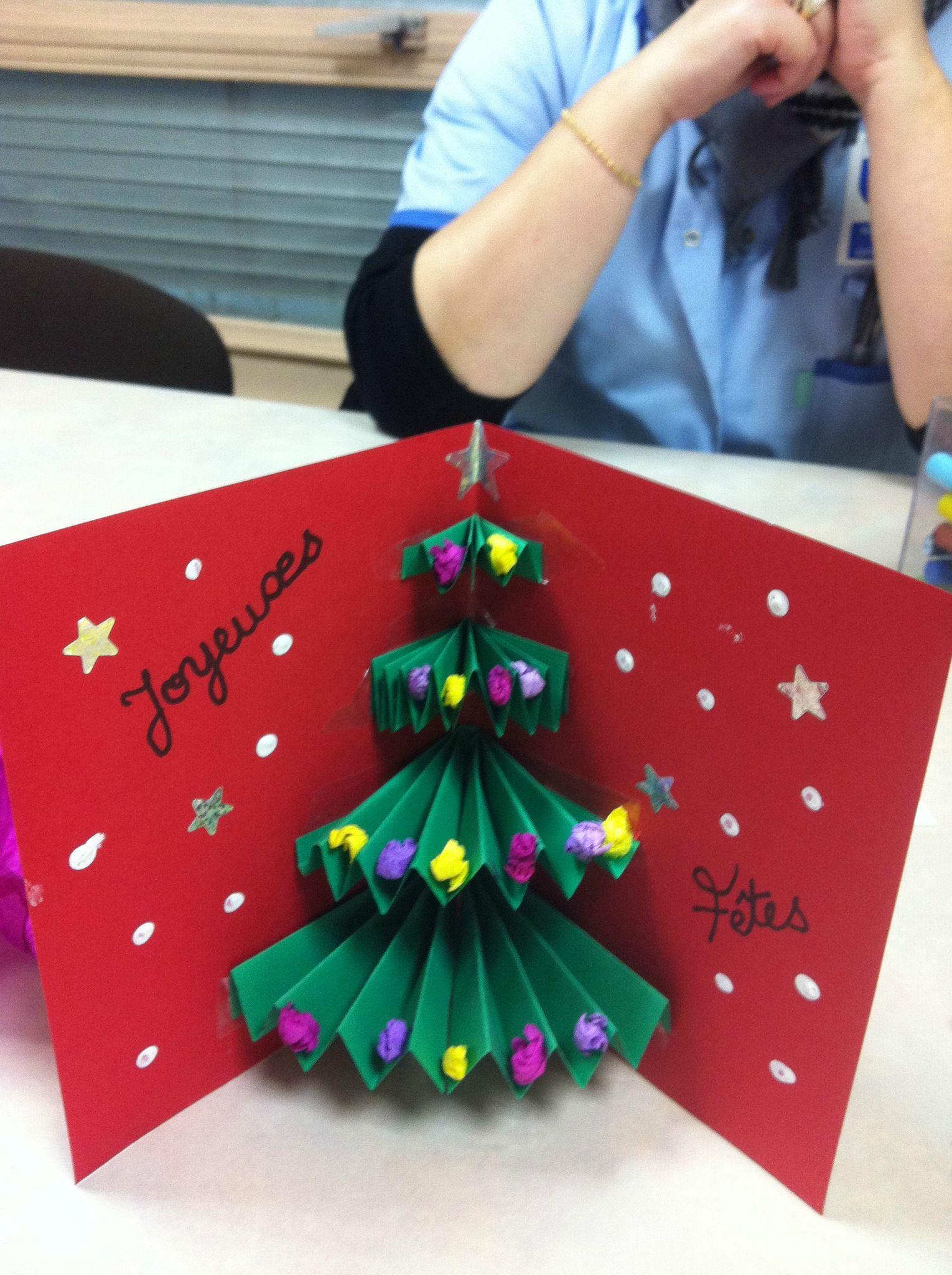 Les Cartes De Noel - Mon Scrap A Moi  | Cartes De Noël À concernant Activités Manuelles Enfants Noel