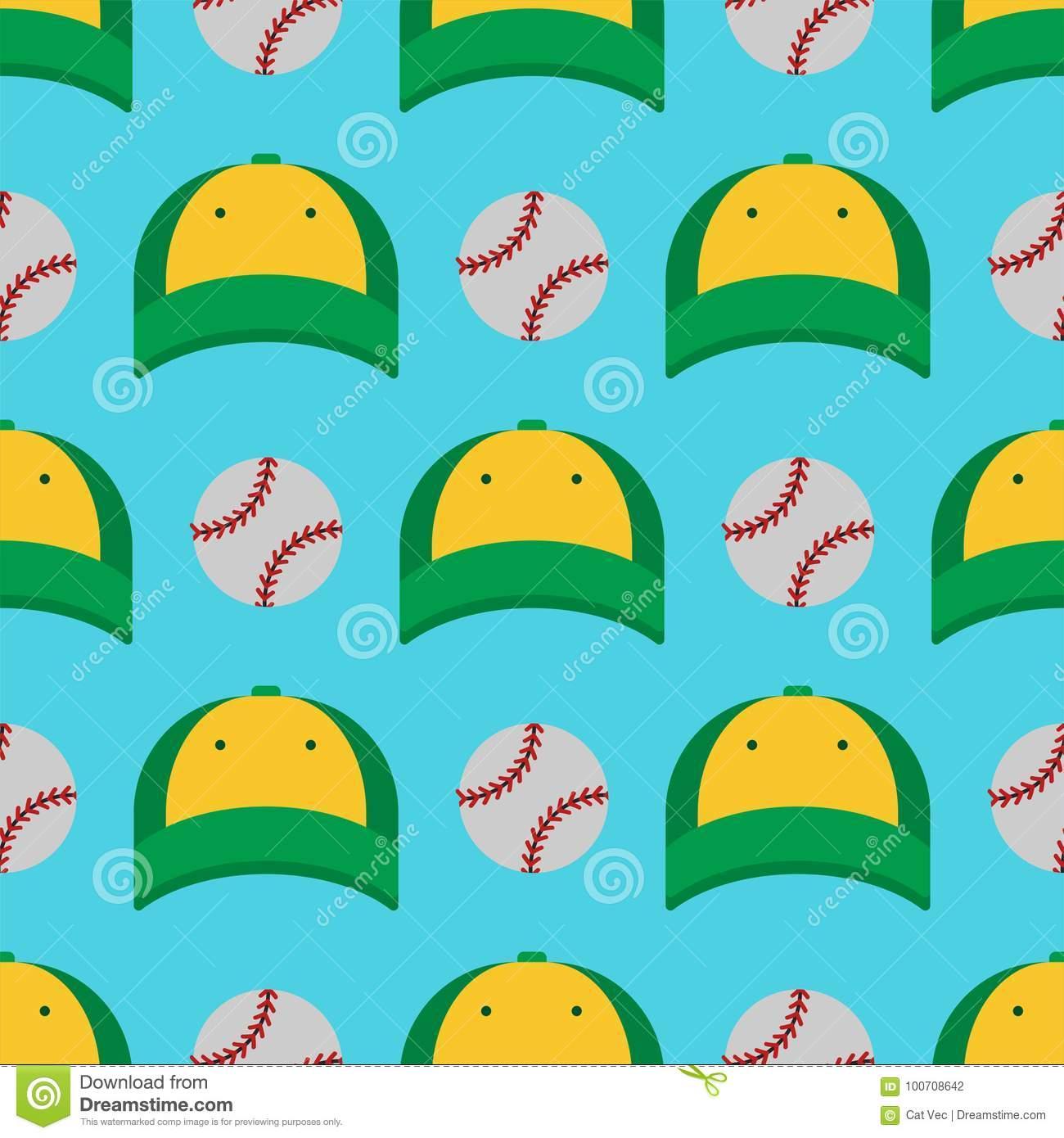Les Chapeaux De Jeu De Sport De Base-Ball Et Le Modèle Sans avec Jeu Des Chapeaux