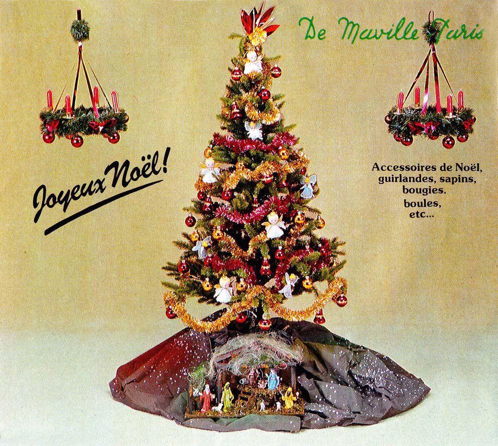 Les Décorations De Noël Des Années 70-80 Par Nath-Didile - pour Fleche Pour Sapin De Noel