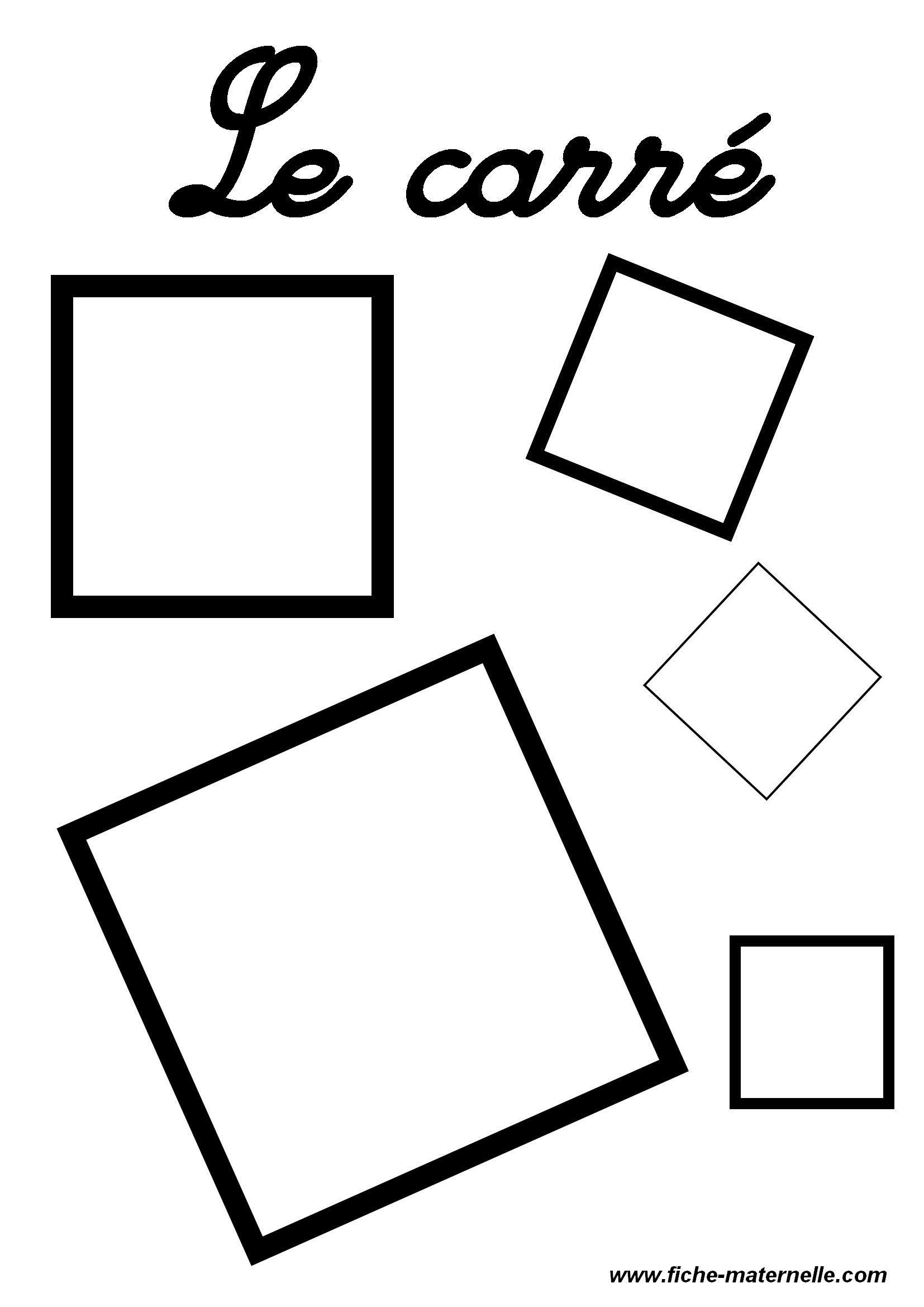 Les Figures Geometriques | Vormen dedans Formes À Découper Maternelle