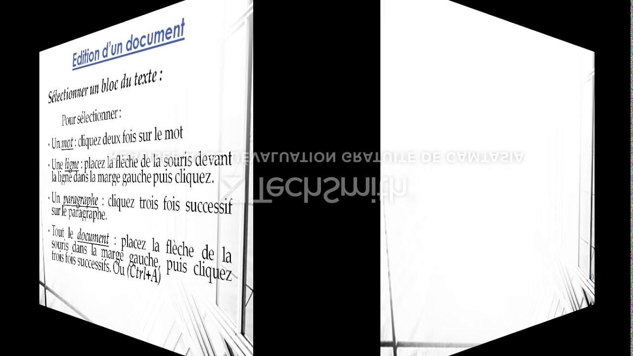 Les Fonctionnalités De Base De Word 2007 Pour Les Classes Du Tronc Commun destiné Mot Fleché
