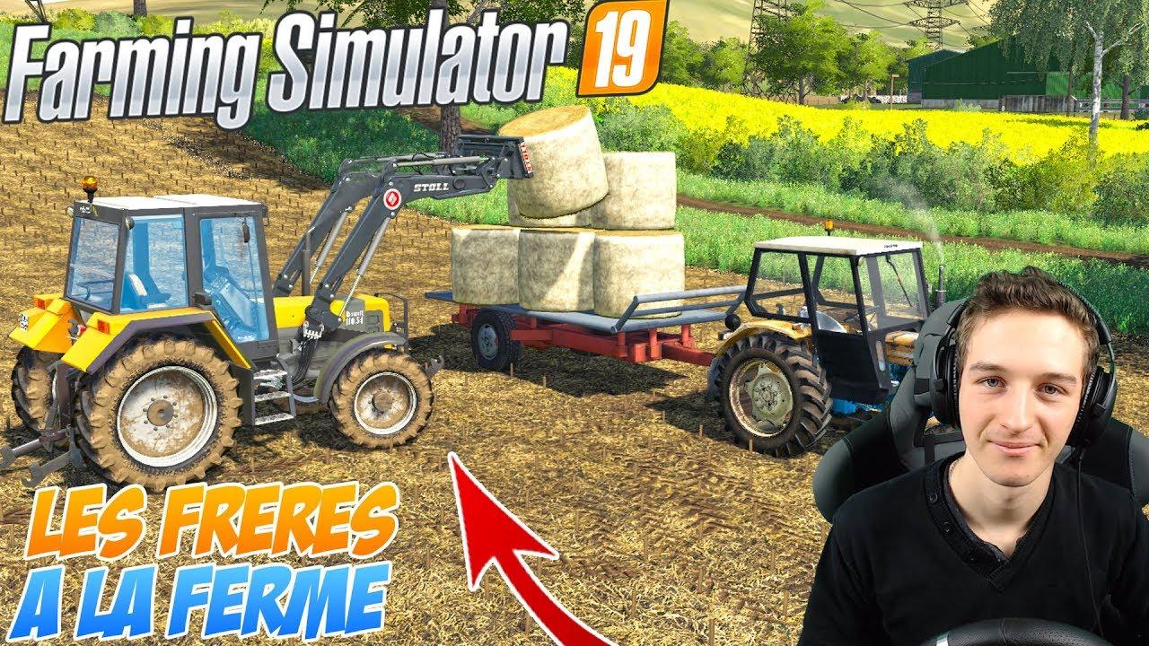 Les Frères A La Ferme S2 ! Notre Nouveau Tracteur ! intérieur Jeux Gratuit Tracteur A La Ferme