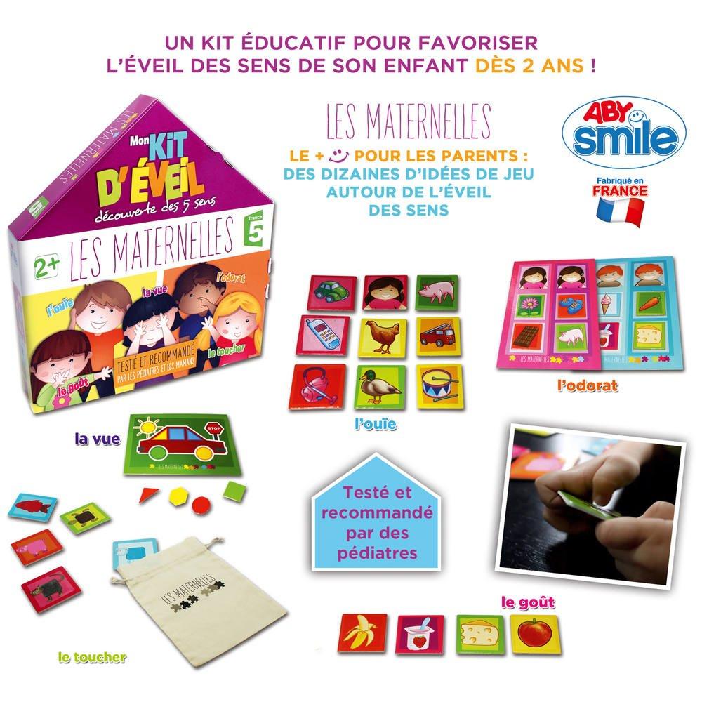 Les Maternelles Jeu Mon Kit D'eveil Decouverte Des 5 Sens serapportantà Jeu Des Cinq Sens