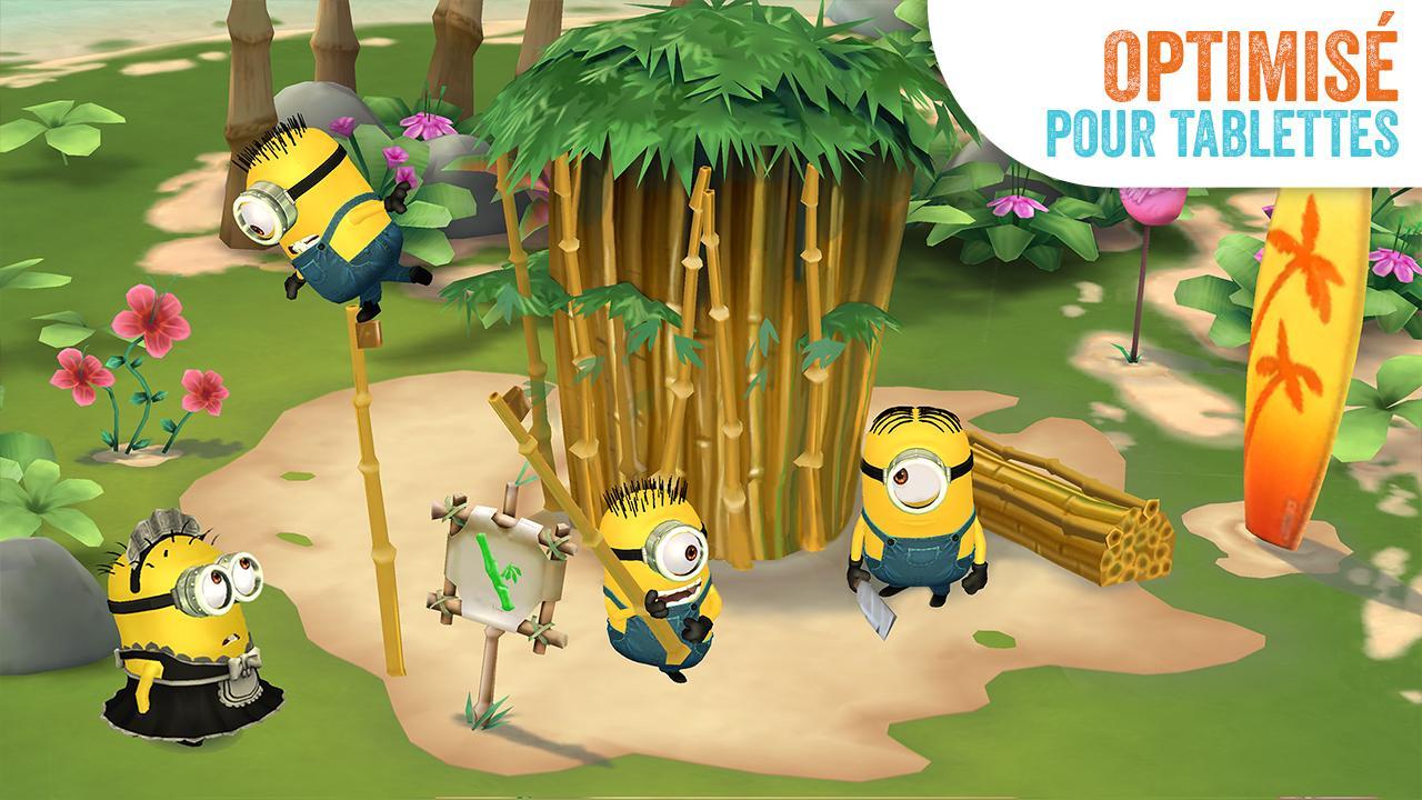 Les Minions Paradise : Ils Débarquent Sur Tablette Et à Jeux Pour Tablette Gratuit