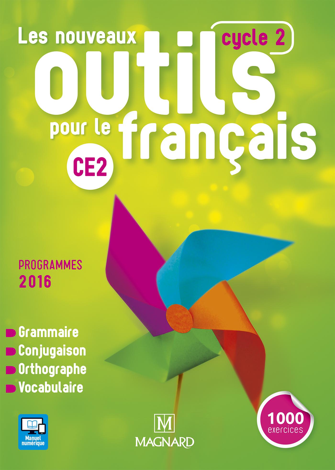 Les Nouveaux Outils Pour Le Français Ce2 (2016) - Manuel De à Exercice Ce2 En Ligne Gratuit